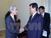 Premier vietnamita recibe a presidente del mayor banco japonés