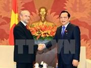 Promueven lazos parlamentarios  Vietnam-Checa