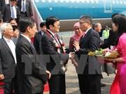 Llega presidente vietnamita a Indonesia