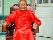 Anciana vietnamita declarada la más longeva del mundo