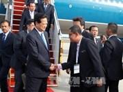 Premier vietnamita arriba a Malasia por XXVI Cumbre de ASEAN