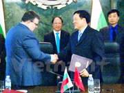 Firman fiscalías de Vietnam y Bulgaria acuerdo de cooperación