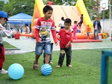 """Amenas actividades en """"Día para Niños con autismo"""" en Hanoi"""