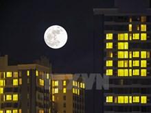 [Photo] Super luna más grande en 100 años en Hanoi