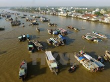 La vida bulliciosa del mercado flotante Cai Rang