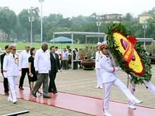 [Fotos] Delegación parlamentaria cubana rindió tributo póstumo al Presidente Ho Chi Minh