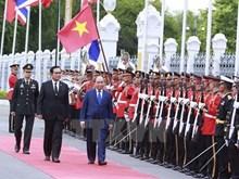 [Fotos] Premier de Vietnam inicia visita oficial a Tailandia