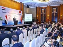 [Fotos] Efectúan en Hanoi Foro Empresarial Vietnam- Egipto