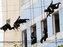 [Fotos] Realizan ensayo para garantizar la seguridad durante la Semana de la Cumbre del APEC