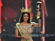 [Fotos] Belleza peruana gana el título de Miss Grand International 2017