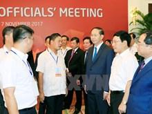 [Fotos] Presidente de Vietnam inspecciona ensayo de próximas actividades de APEC 2017