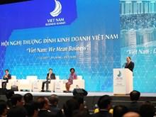 [Fotos] Inician Cumbre Empresarial de Vietnam