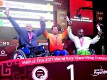 [Fotos] Pesista vietnamita rompe récord mundial en campeonato para minusválidos en México