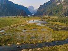 [Fotos] Laguna Van Long en Vietnam, paraíso de cigüeñas