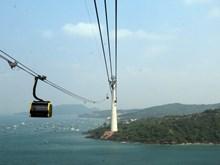 Inauguran en Vietnam teleférico de tres cables más largo del mundo