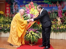 [Foto] Budistas en Vietnam celebran Día de Vesak 2562