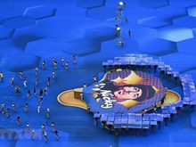 [Foto] Impresionantes imagenes de la clausura de la Copa Mundial 2018