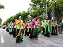[Foto] Festival callejero marca 10 años de la ampliación de extensión territorial de Hanoi