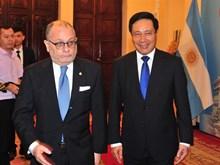 [Fotos] Ministro de Relaciones Exteriores y Culto de Argentina visita Vietnam