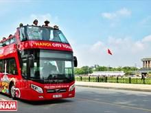 (Fotos) Hanoi con servicio de bus turístico de dos pisos