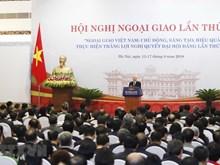 [Fotos] Comienza Conferencia de Diplomacia de Vietnam