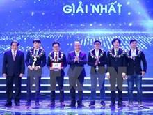 """Premio """"Talentos de Vietnam"""" respalda al país en medio de cuarta revolución industrial"""