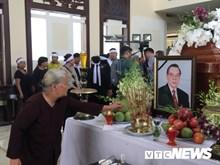 Dirigentes y pobladores se despiden al exprimer ministro Phan Van Khai
