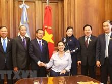 Vietnam y Argentina fomentan nexos parlamentarios