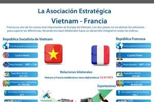 La Asociación Estratégica Vietnam- Francia