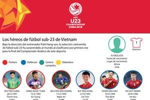 Los héroes de fútbol sub-23 de Vietnam