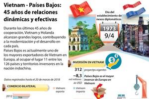[Infografía] Vietnam - Países Bajos:  45 años de relaciones  dinámicas y efectivas