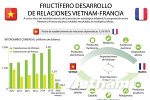 [Infografía] Desarrollo de relaciones Vietnam-Francia
