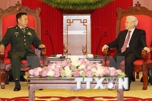 Máximo dirigente partidista vietnamita respalda cooperación militar con China