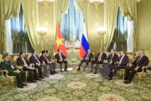 Vietnam reafirma política de robustecer asociación estratégica integral con Rusia