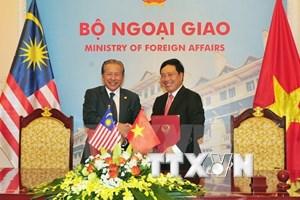 Comisión mixta de Cooperación Vietnam- Malasia celebra su quinta reunión en Hanoi