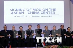 ASEAN y sus contrapartes delinean itinerario para futura cooperación