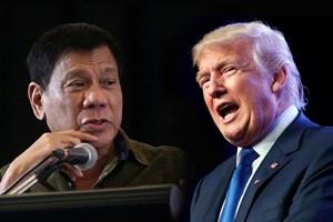 Donald Trump y Rodrigo Duterte se reúnen por primera vez en Vietnam
