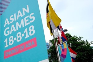 Selección olímpica de fútbol de Vietnam llega a Indonesia para ASIAD 2018