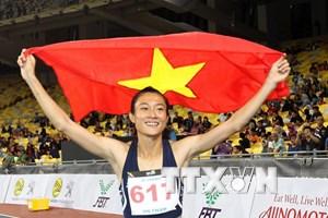 Atletismo vietnamita espera conseguir títulos en juegos continentales