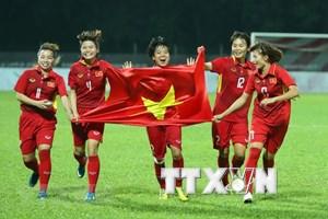 Equipo de fútbol femenino de Vietnam está listo para ASIAD 2018