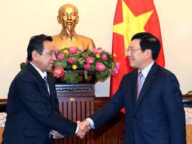 Vicepremier de Vietnam destaca relaciones de amistad con Mongolia