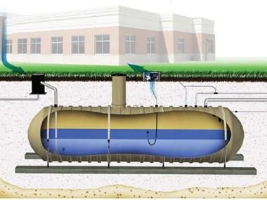 Ciudad vietnamita utiliza tanque subterráneo de recolección de agua de lluvia