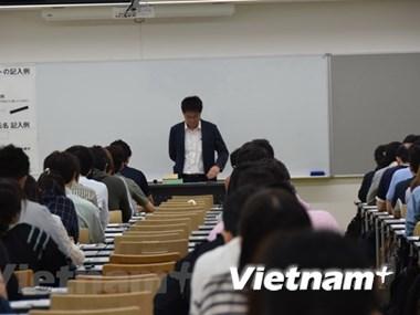 Más de 500 japoneses participan en competencia sobre dominio de idioma vietnamita