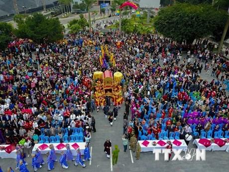Celebran reconocimiento del Templo de Cua Ong como reliquia nacional especial